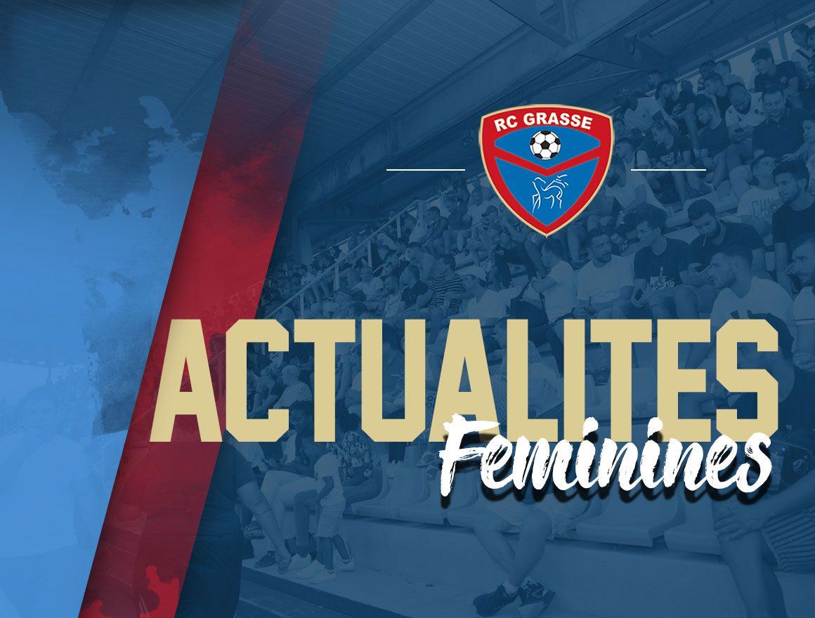 Le Racing reçoit le label École Féminine de Football Argent