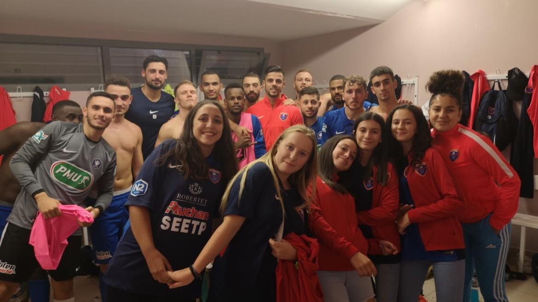 Revivez le déplacement de nos U15 et U18 féminines aux côtés de la N2 en Coupe de France