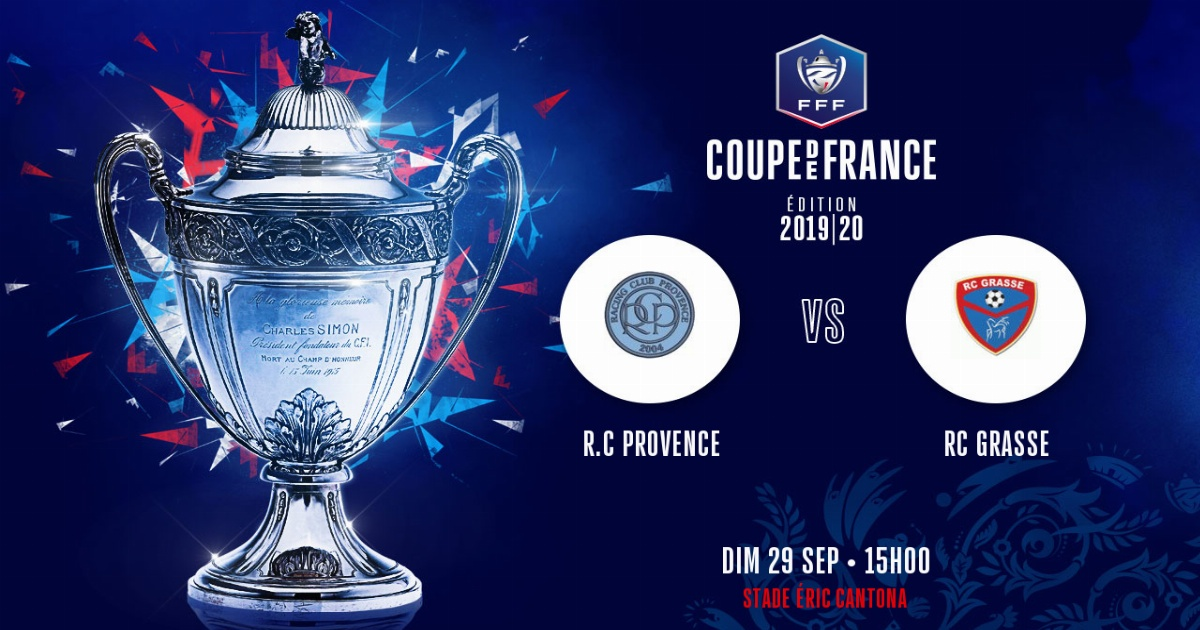 Coupe de France : Le Racing se déplacera sur la pelouse du RC de Provence