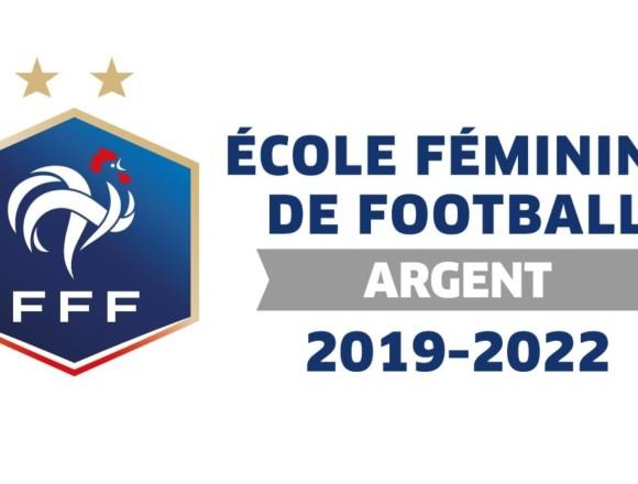 Le RC Grasse reçoit officiellement le label argent en tant qu'école féminine de football
