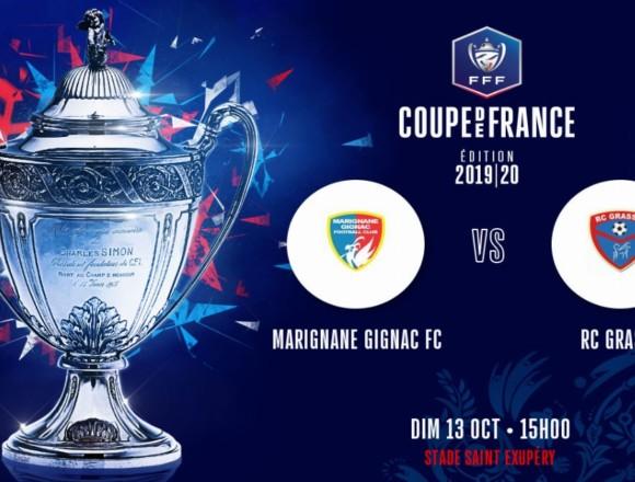 Le Racing se déplacera à Marignane-Gignac au 5e tour de la Coupe de France