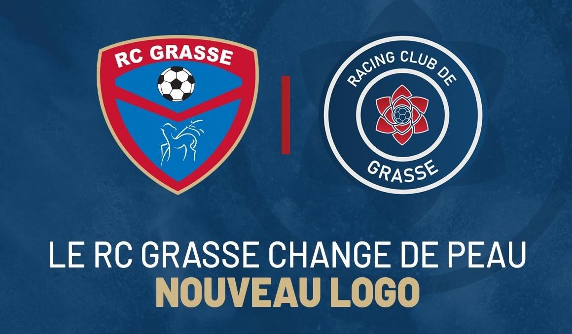Le RC Grasse change de peau avec un nouveau logo
