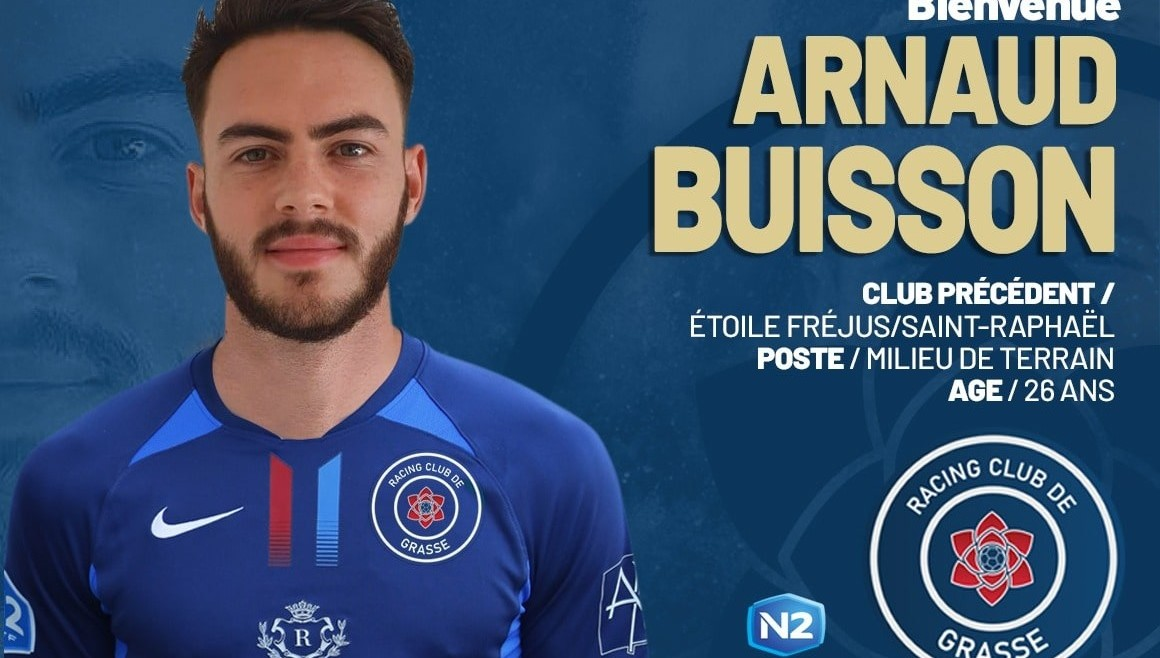 Arnaud Buisson rejoint le RC Grasse (officiel)