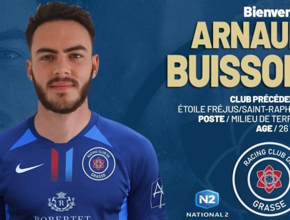 Arnaud Buisson rejoint le RC Grasse (officiel)