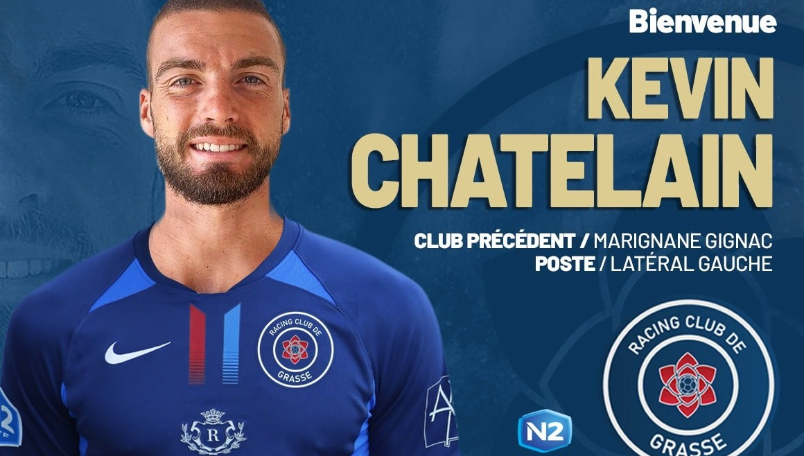 Kévin Châtelain s'engage avec le RC Grasse (officiel)