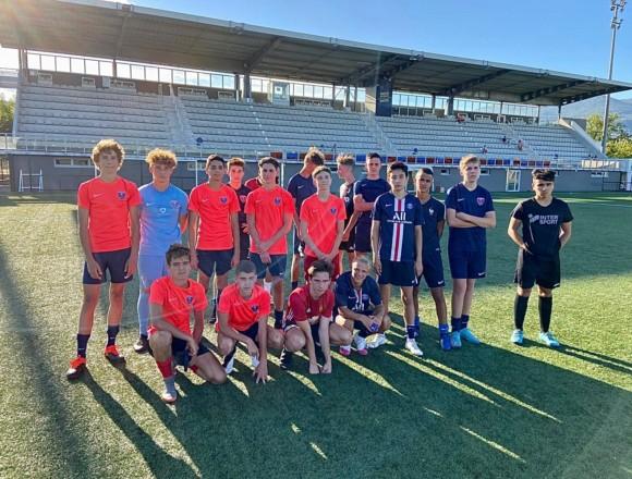 Dorian Derome (U17) : « Pratiquer un football agréable »