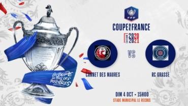 Coupe de France (4e tour) : Le RC Grasse hérite du CA Cannetois
