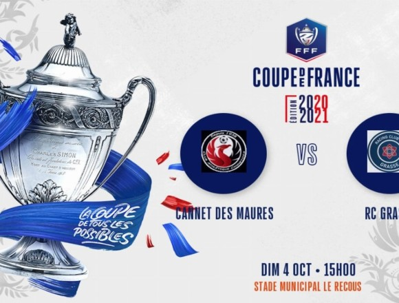 Coupe de France (4e tour) : Le RC Grasse hérite du CA Cannetois