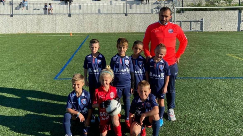U8 : Vincent Bardaji et ses jeunes pousses ont brillé ce week-end