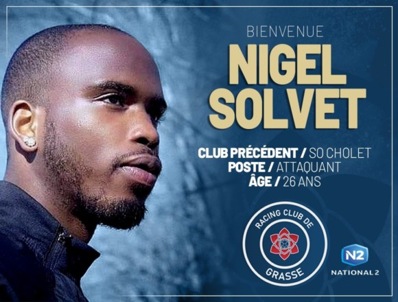Nigel Solvet (ex-SO Cholet) signe au RC Grasse