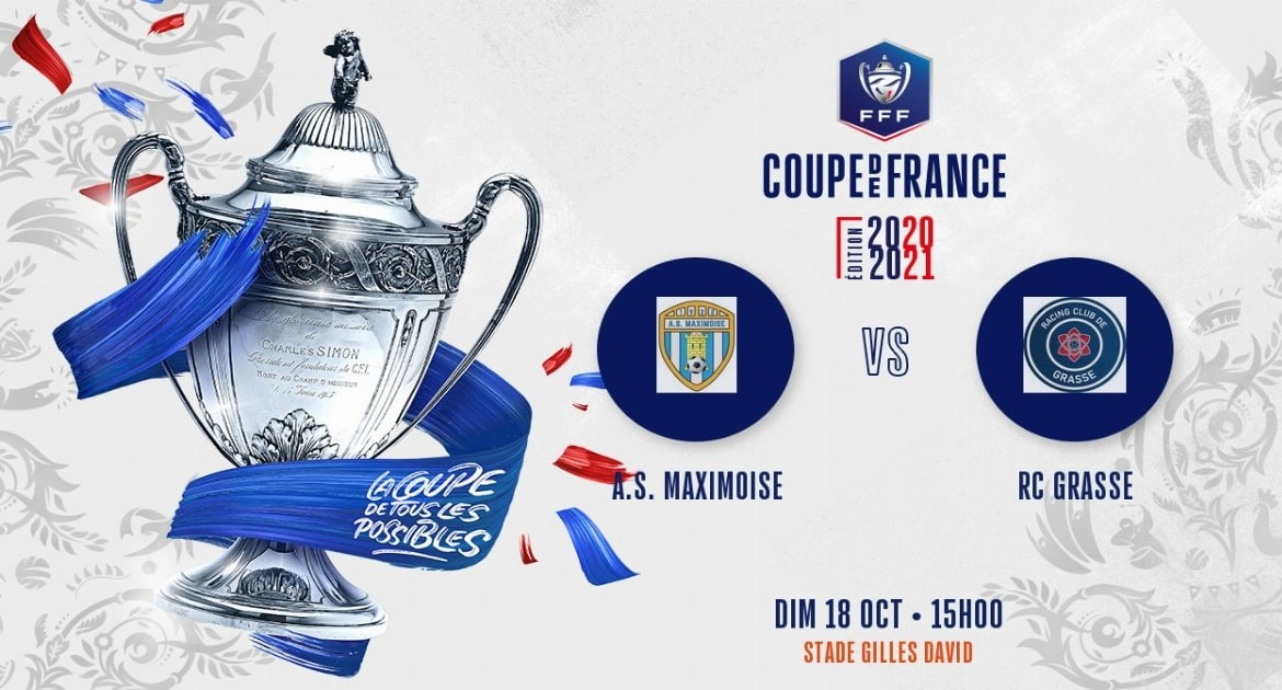 Coupe de France (5e tour) : Le RC Grasse affrontera l'AS Maximoise
