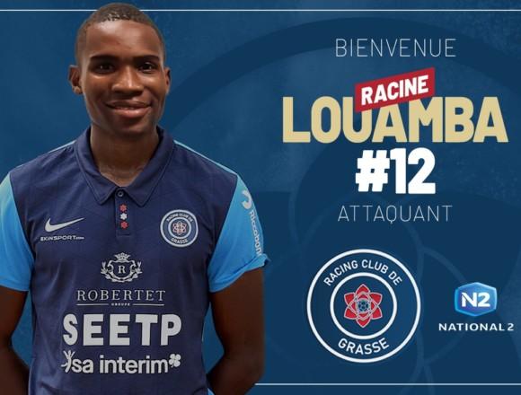 Racine Louamba rejoint le RC Grasse