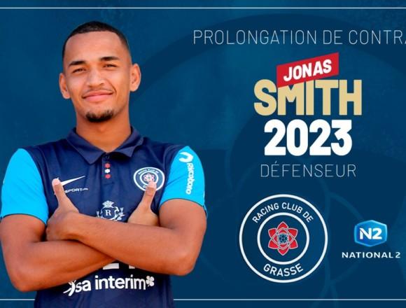 Jonas Smith prolonge l'aventure avec le RC Grasse