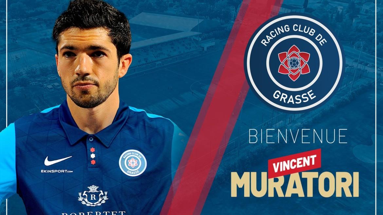 Vincent Muratori signe au RC Grasse