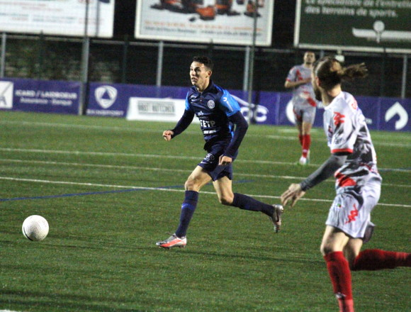 N2 : Le Racing s'impose face à Jura Sud Foot