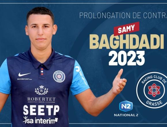 Samy Baghdadi prolonge son contrat avec le RC Grasse