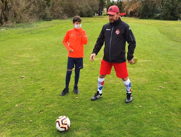 Session Footgolf pour nos U13