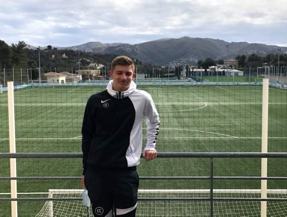 Andrea Helly (U15) à l'essai à l'Olympique de Marseille