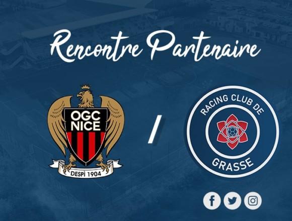 Le RC Grasse et l'OGC Nice renouvellent leur partenariat