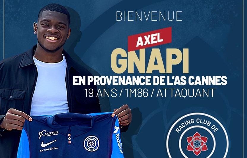 Axel Gnapi (ex-AS Cannes) signe au RC Grasse