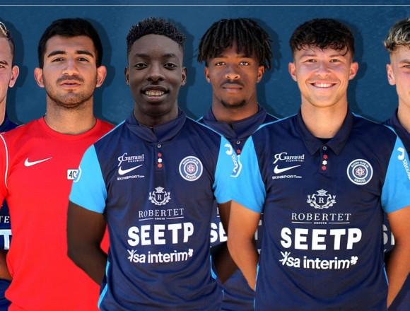 Six jeunes intègrent le groupe de National 2