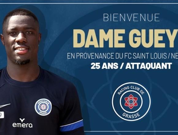 Dame Gueye arrive au RC Grasse
