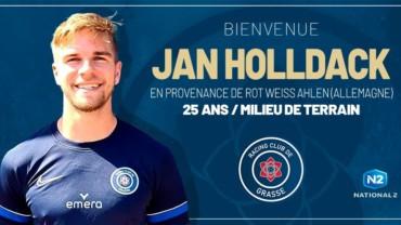 Jan Holldack rejoint le RC Grasse