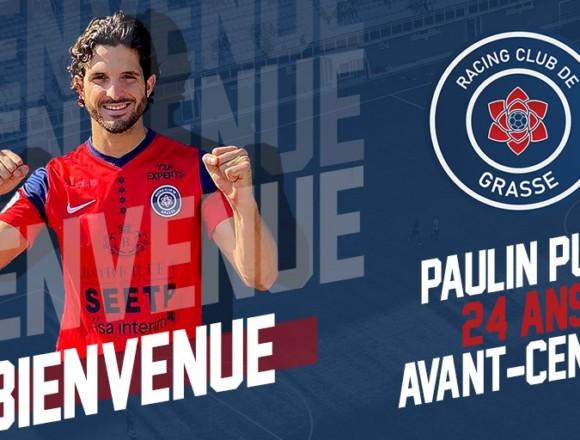 Paulin Puel rejoint le RC Grasse